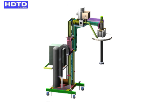 Aluminum alloy low pressure casting machine